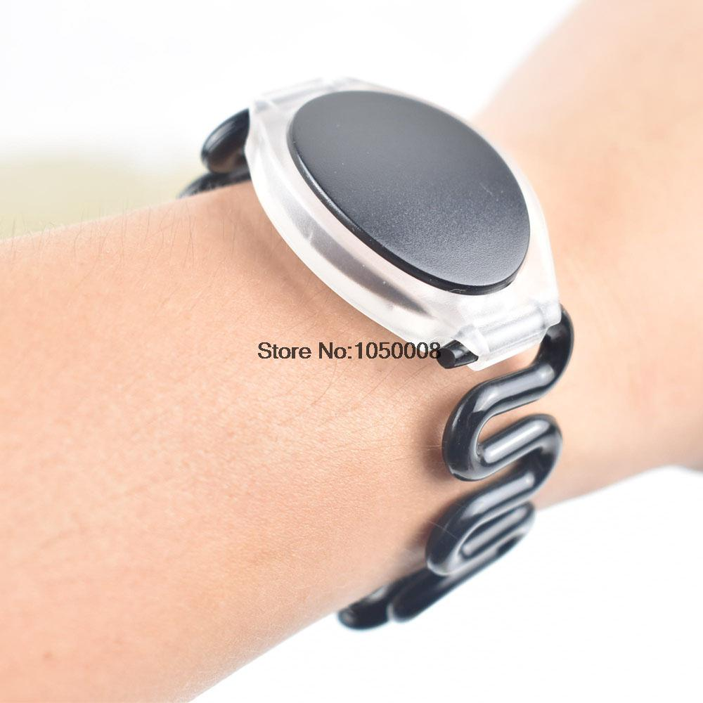 100pcs/lot 125Khz RFID Wristband Bracelet Silicone EM4100 Waterproof Proximity Smart Card Watch Type for Access Control купить