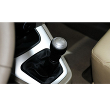 Car New Black Silver 5 Speed For Hyundai Coupe Tiburon Getz Elantra Tucson ix35 Manual Transmission Gear Shift Knob