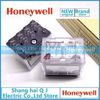 Honeywell SZR-LY4-N1 100VAC 110VAC relay socket Brand new and original