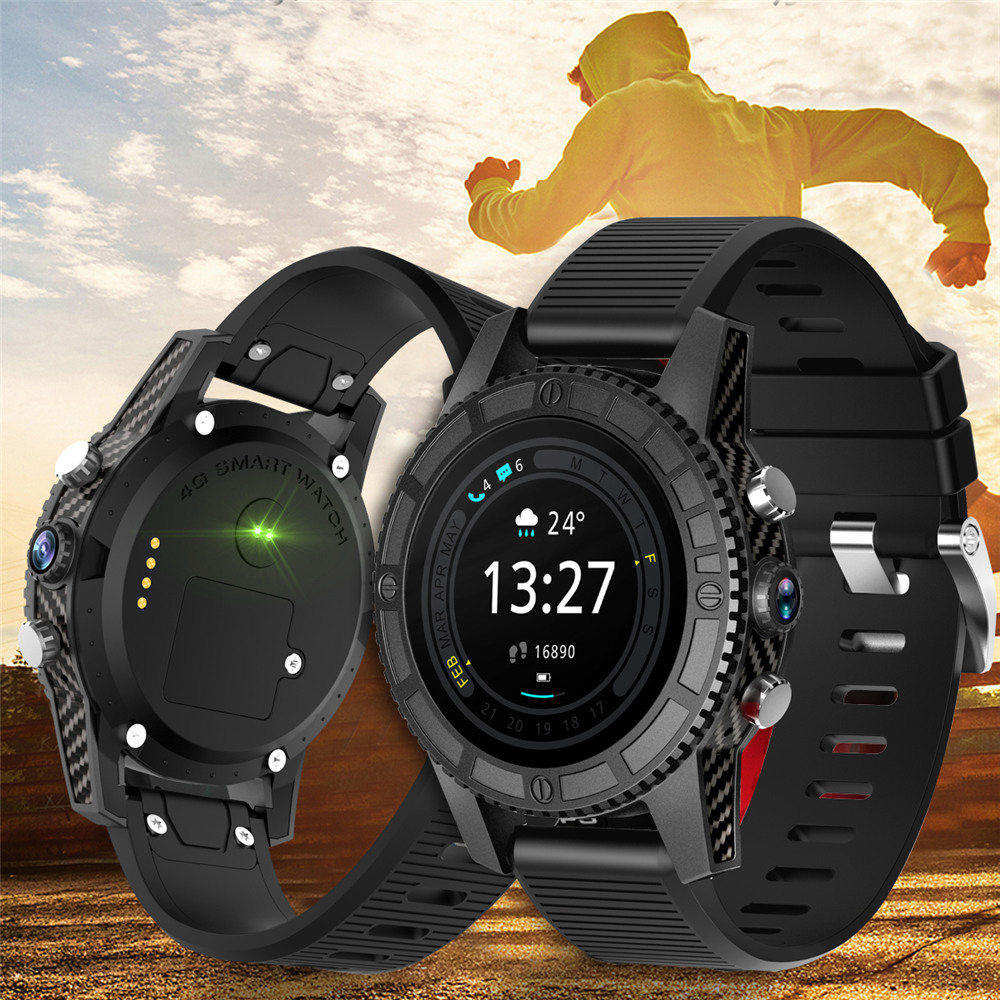 Interpad 4G GPS WIFI montre intelligente Android 7.0 MTK6737 1 GB RAM 16 GB ROM Support WIFI GPS Google jouer cartes Smartwatch pour Xiaomi - 4