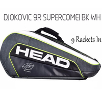 Head Tennis Bag Professional Rackets Backpack Handbag Djokovic Double Shoulder Big Bag Large Capacity Can Hold 6 9 Racquete