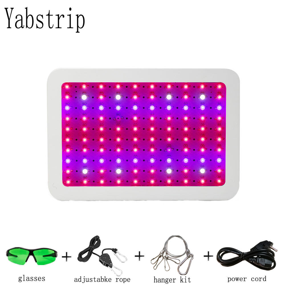 Yabstrip 1000W Full Spectrum LED Plant Grow Light Lamp Phyto Lamp Fitolampy For Seeding Flower Aquarium Hydroponics Vegetable