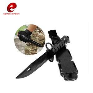 M9 Тактический тренировочный кинжал для косплея, пластиковый нож для охоты, выживания, резиновые ножи, моделирование, байонет с кобурой, косплей, CY337