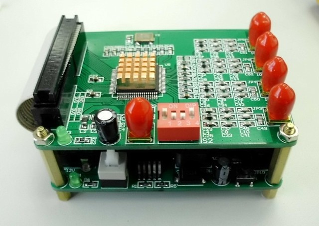AD9854 DDS signal source Orthogonal signal source Autonomous Development Signal stability