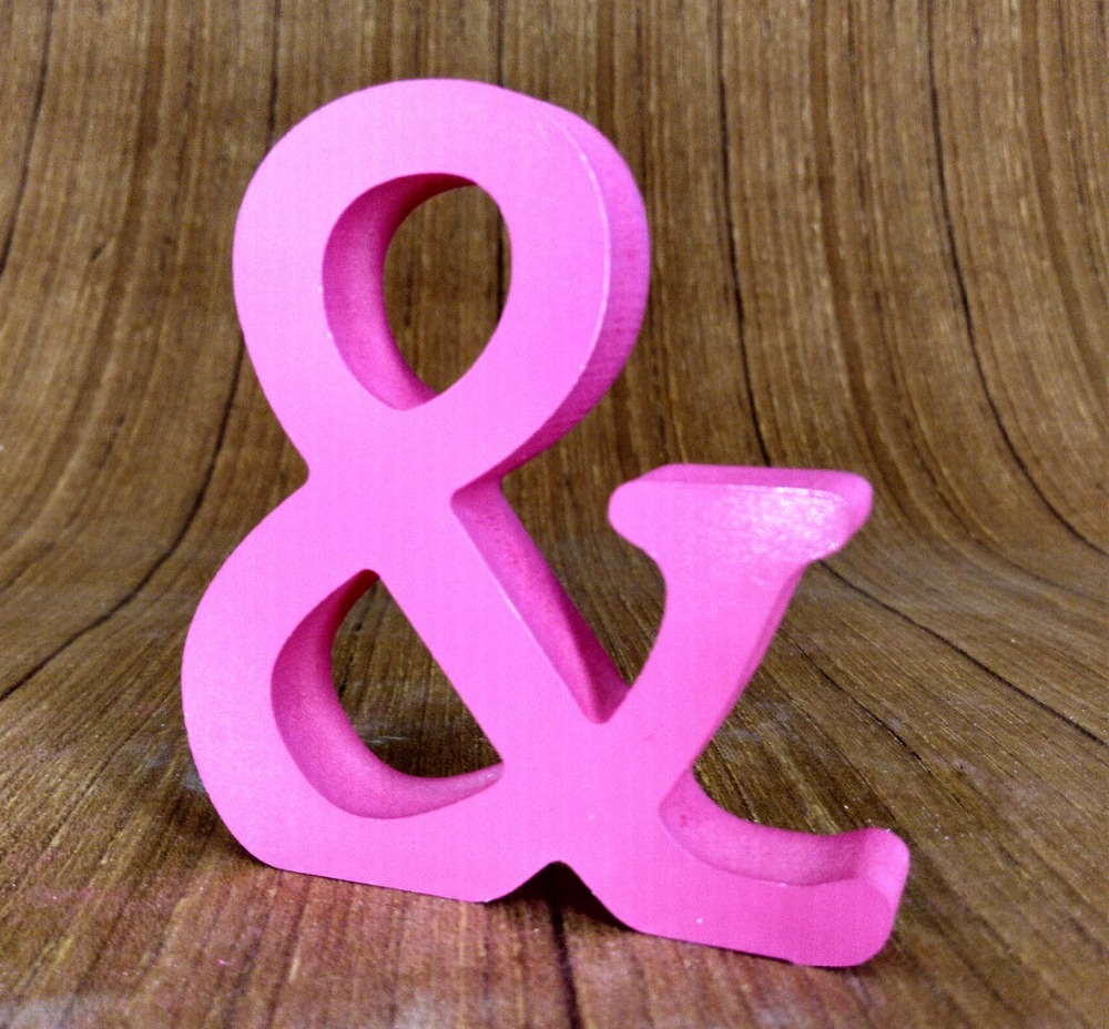 ⊹15cm Artificial wooden letters for Birthday wedding decoration ...