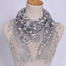 Женский шарф 18