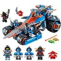 Blocs de construction Brinquedos Modèle set Chiffres Jouets Nexo Chevaliers Argile de Rumble Lame pour Noël Cadeau Compatible avec Lego