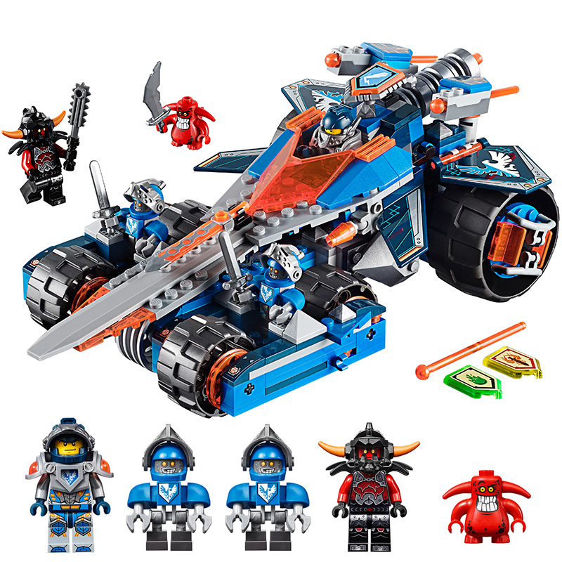 Building Blocks Brinquedos Model set Figures Toys Nexo Knights Clay's Rumble Blade for Christmas Gift Compatible with Lego 14012 model building kits compatible with lego knights clay s rumble blade jestro model building toys hobbies 70315
