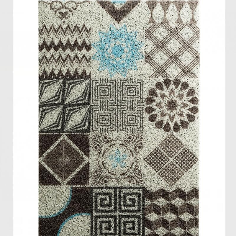 Nordic Style Large Size Carpet PVC Door Mat Floor Carpet For Porch Rug Anti Slip Doormat