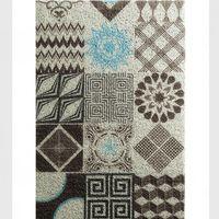 Big Size/1 PCS Geometric Pattern Door Mat Floor Carpet For Porch Rug Anti Slip Doormat Home Decor Home Entrance Floor Mat