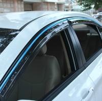 High Quality 4 Pcs Set TEANA Wind Rain Sun Guards Visor Vent Awnings Shelters For Toyota