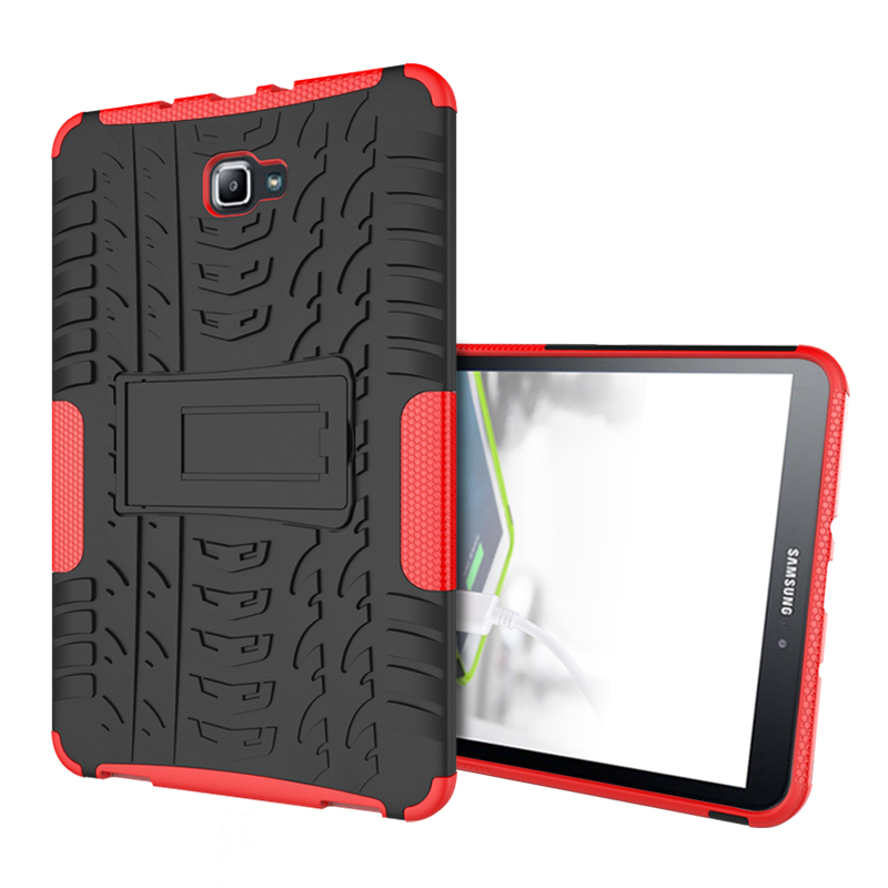 "Robuste robuste Rüstung für hohe Beanspruchung Dazzle Shockproof Stand Fundas Case für Samsung Galaxy Tab A A6 10.1 ""2016 T585 T580 T580N Tablet Cover"