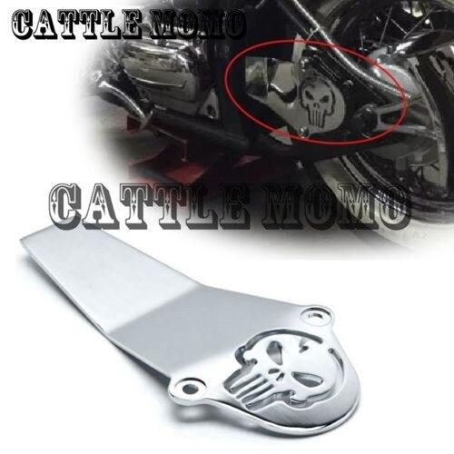 ФОТО Motorcycle Chrome Skull Drive Shaft Cover For Yamaha V Star V-Star 650 1998-2015 V Star 1100 1999-2010 2011 2012 Classic Custom