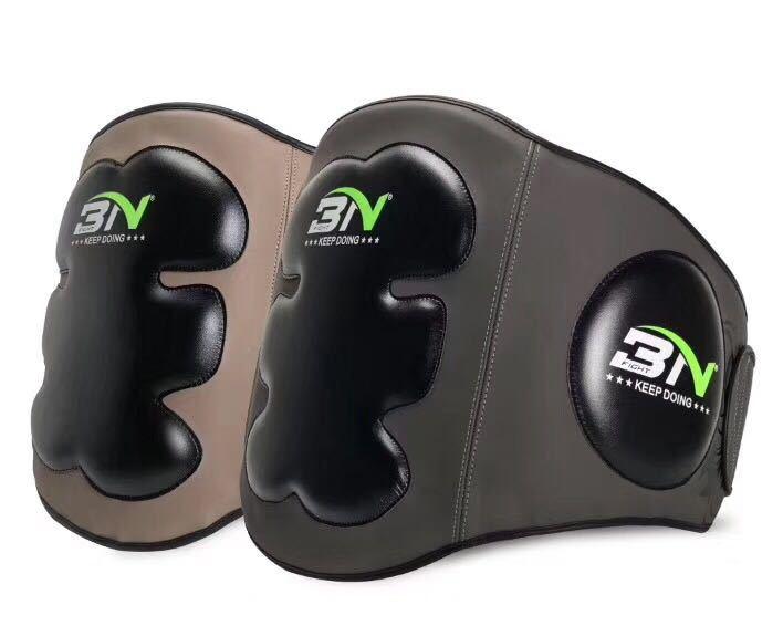 MMA Sparring Boxe Muay Thai Pad Ventre Estomac Protecteur Poitrine Corps Bouclier Coups de Pied Arts Martiaux Garde Abdomen Taille Formateur DCE