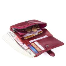 decc2f306 Monedero mujer cartera femenina carteras billetera mujer genuino cartera  portefeuille femme Wallet monederos(China)