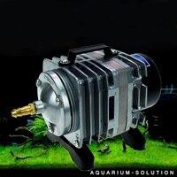 110 LPM High Output Electromagnetic Aquarium Air Pump for Hydroponics Pond Air Compressor 10 Valve Fish Tank Oxygen Air Pump