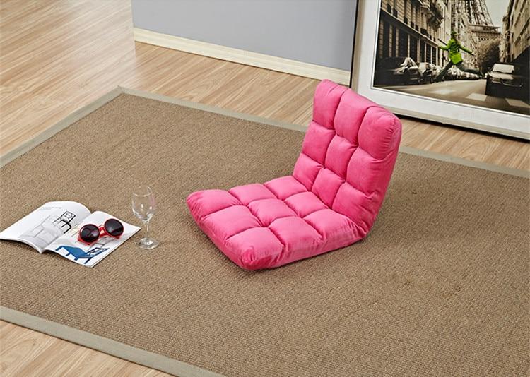 Louis Fashion Beanbag Tatami Folding Single Small Sofa Bed Computer ...