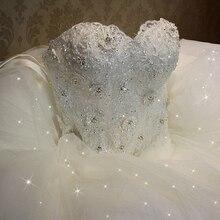 Brandage бальные vintage роскошный свадебное элегантный платья кружева плюс платье белый