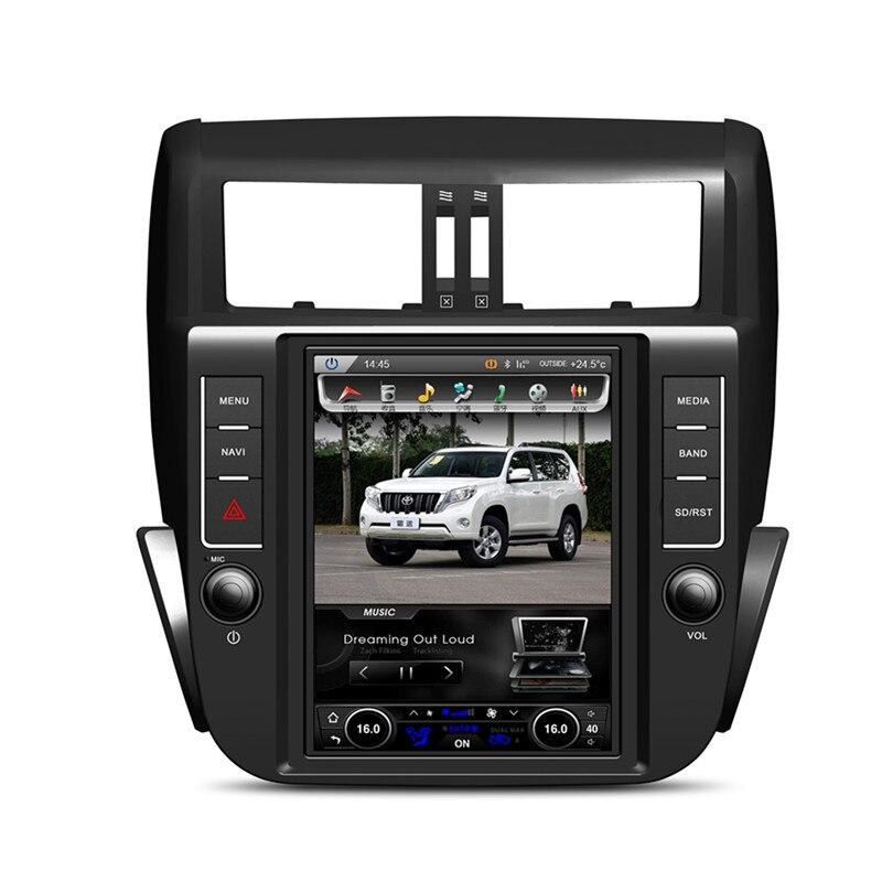 KLYDE 6,0 Android 9,7 768*1024 вертикальный экран автомобиля радио для TOYOTA Prado 150 LC150 2010-2013 аудио стерео Мультимедиа RDS DVR