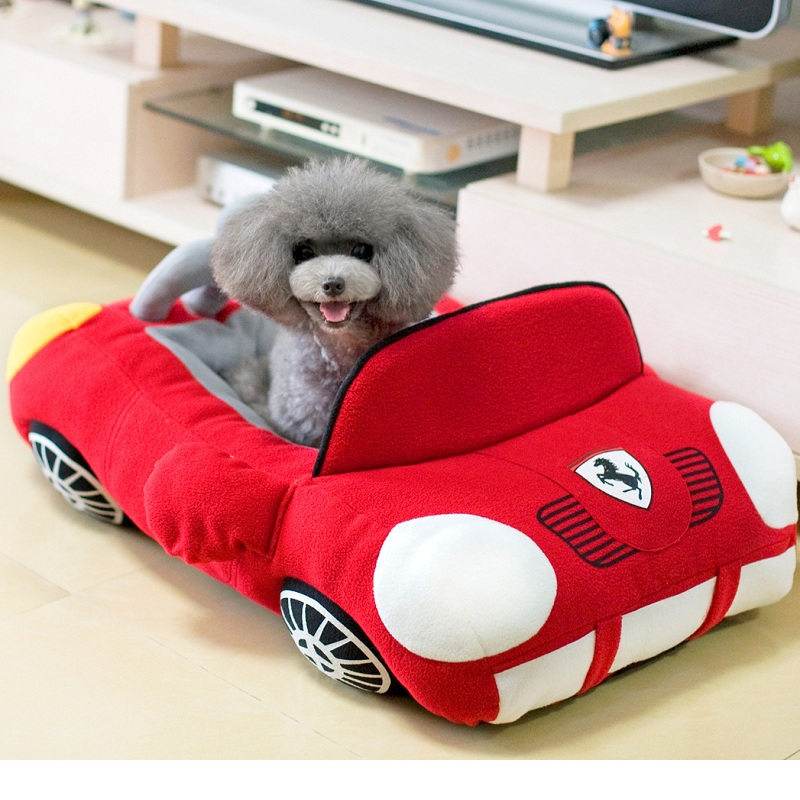 Fashion Car Shape Cat Bed Cat Sofa Pet Dog Bed Cushion