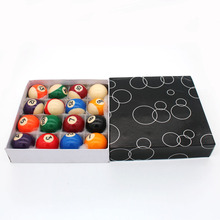 Маленький размер набор бильярдных шаров 38 мм, 16x полный набор бассейн мяч для маленький бильярдный стол 38 мм диаметр