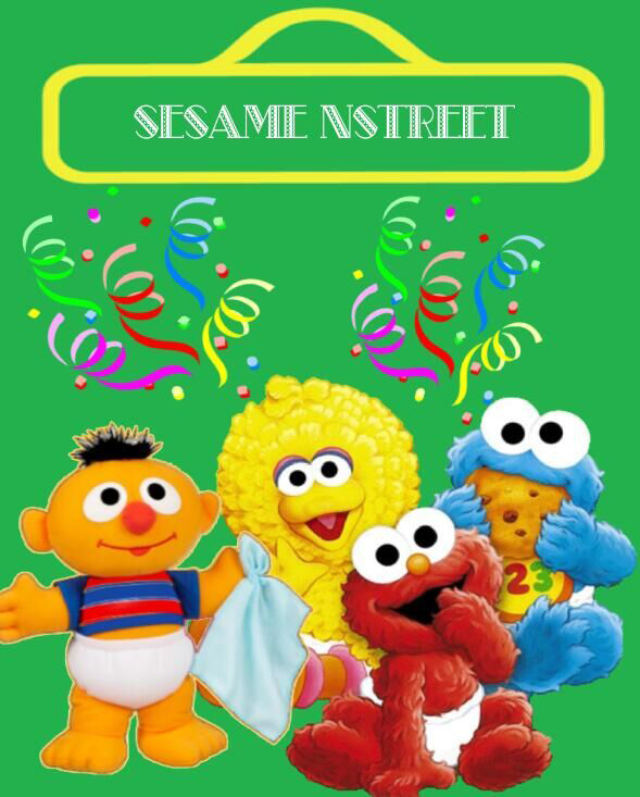 Baby Sesame Street Background