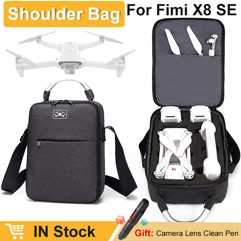 Storage Bag Travel Case Carring Shoulder Bag For Xiaomi FIMI X8 SE Portable Handheld Carrying Case Bag Waterproof Fimi X8 Se Bag