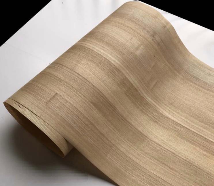 Length:2.5meters Width:55cm Seamless Splicing Straight-grain Wood Bark Veneer