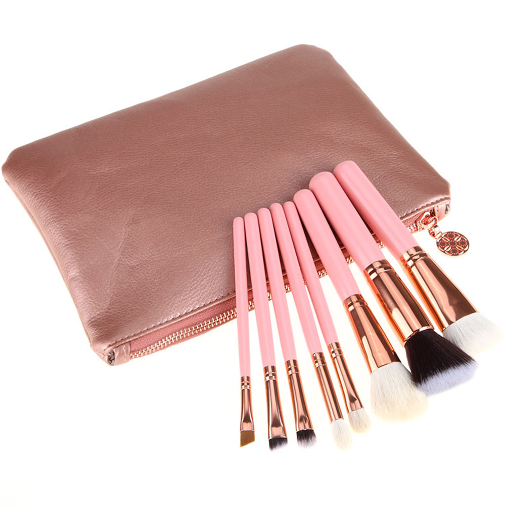 8 Pcs/ set Makeup Brushes Set Powder Eye Brushes Kit Cosmetics Beauty Tools Or 1 Pc Cosmetic bag Dropshipping