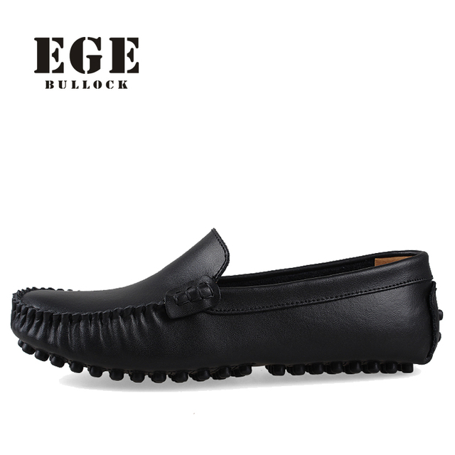 Size 4~15 Handmade Men Shoes Genuine Leather Men Flats,High Quality Driving Shoes Soft Leather Moccasins for Men,Business Flats