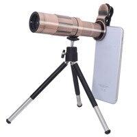 Lichtgewicht 20x Zoom Optische Mobiele Telefoon Lens Telescoop Camera Telelens Voor Smartphone met Mini Statief