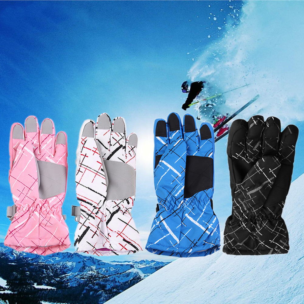 1 Pair Comfortable Men Women Outdoor Winter Sport Windproof Waterproof font b Gloves b font Keep