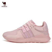 Popular Women Sneaker Soft Breathable Net Vamp Comfortable Sports Shoes Fitness Jogging Female Shoes Zapatillas Hombre