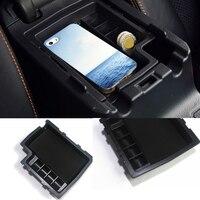 automobile Car Armrest Storage Box Cover Center trays For Subaru XV 2012 2015 accessories