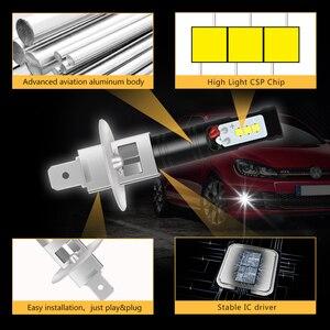 Image 5 - Katur 2pcs H1 Led Bulbs for Cars CSP LED Chips Bulb Auto Led Light Fog Lamp Super Bright Auto Running Lights 6500K White DC12V