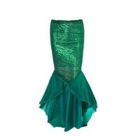 Dress Mermaid Women'S Dress Mermaid Elastic Cosplay Long Maxi Sexy Women Bodycon Halloween