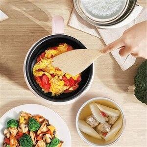 Image 3 - Casserole électrique multifonction 220V, Mini casserole pour la cuisine domestique, antiadhésive/en acier inoxydable, multi cuiseur disponible à lintérieur