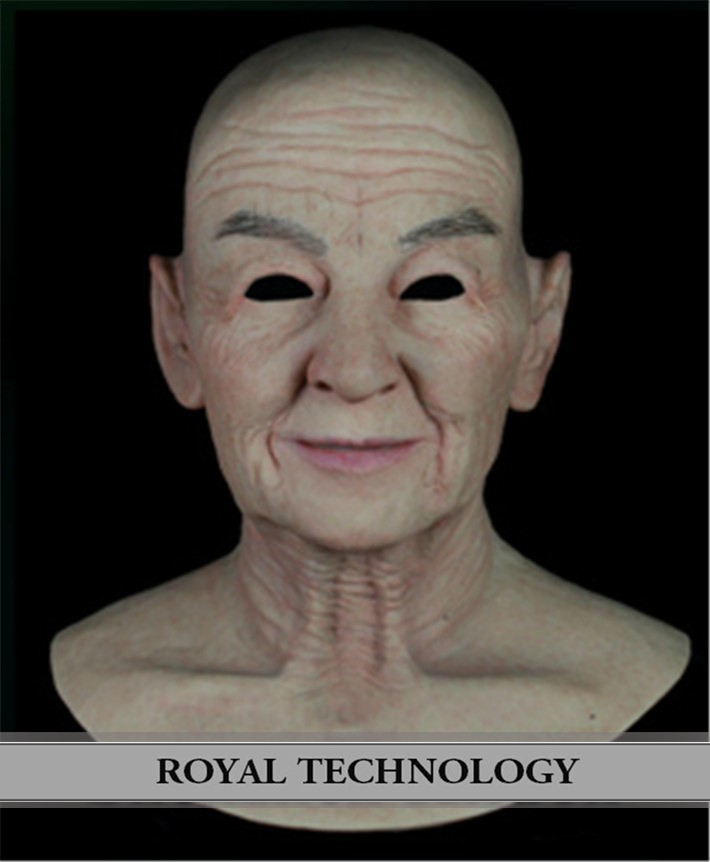 FN-9 2015 New realistic silicone masks transvestite men latex mask old man - Royal Material Technology Co., Ltd store