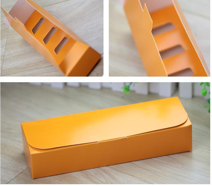 Alice,21.5*6.5*4.5cm,Gift Box Yellow Christmas gift Box Cake/Handmade Soap Boxes Craft Gift Jewel Macaron Packaging Box