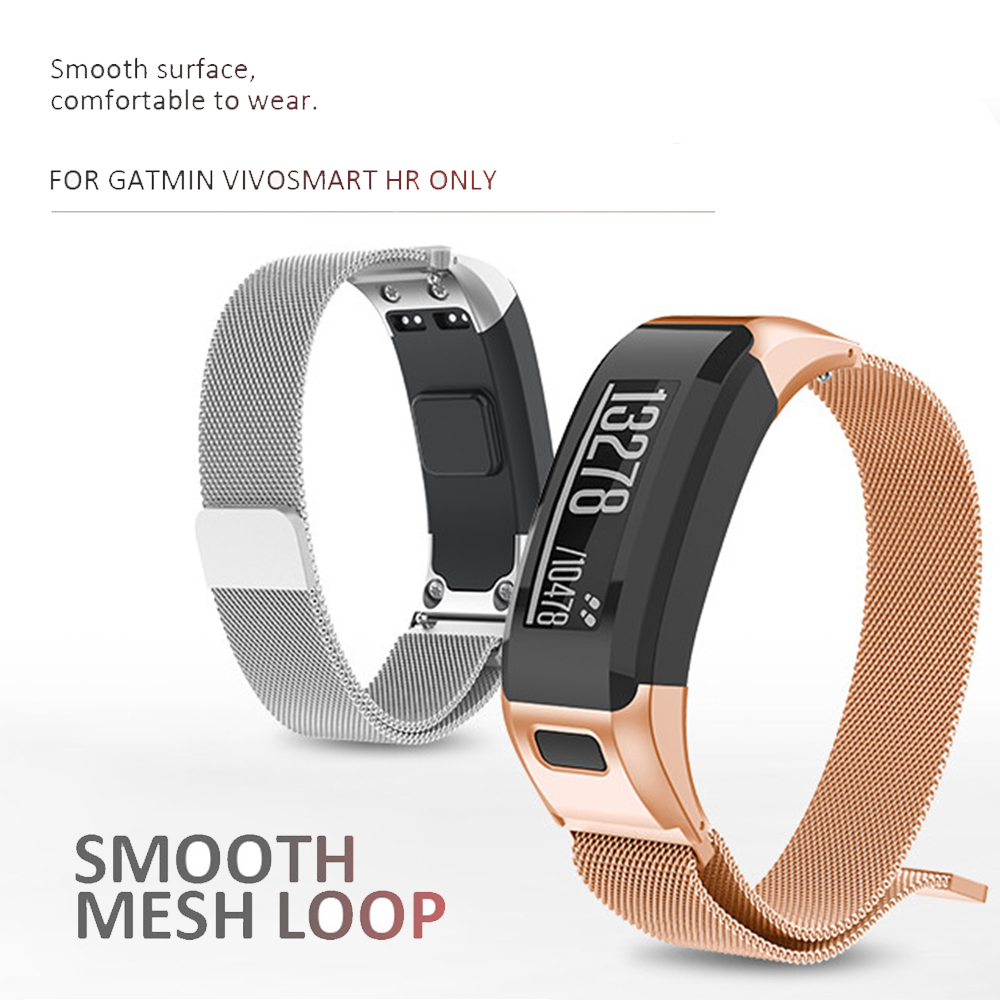 Ersatz Milanese Magnetische Strap für Garmin Vivosmart HR Uhr Band Edelstahl Band für Vivosmart HR Armband Mit Werkzeug