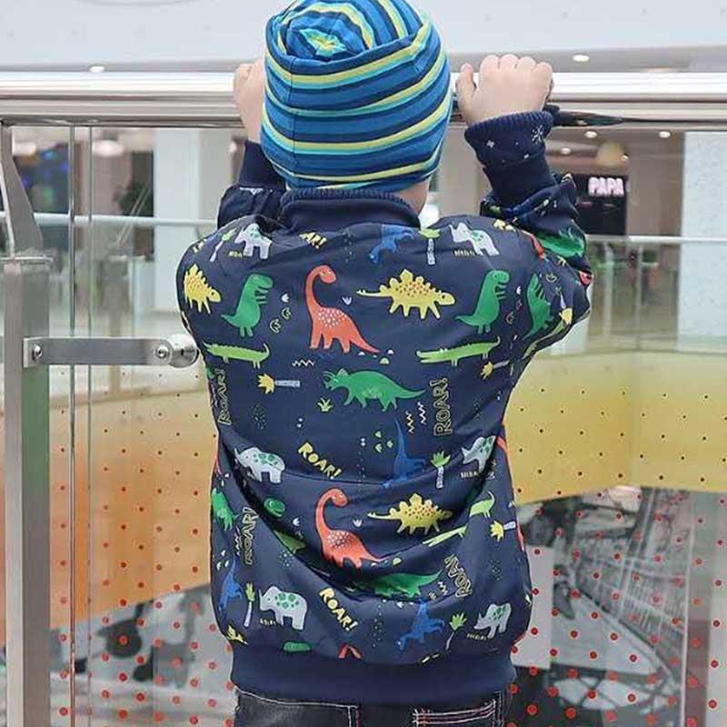 bebe meninos jaqueta bonito dinossauro criancas casacos 04