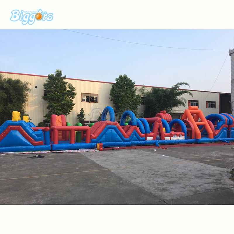 Inflatable obstacle course (6)