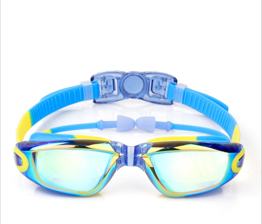 Kids Swimming Anti-Fog UV Protection Prescription Goggles Waterproof Glasses Goggle 11