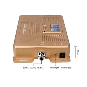 Image 2 - Full Smart!DUAL BAND LCD display speed 2g+3g+4g1800/2100mhz mobile signal booster cellular  cell phone signal repeater amplifier