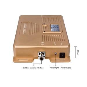Image 2 - フルスマート!デュアルバンドlcd表示速度 2 グラム + 3 グラム + 4g180 0 2100/2100mhzモバイル信号ブースター携帯携帯電話の信号リピータアンプ