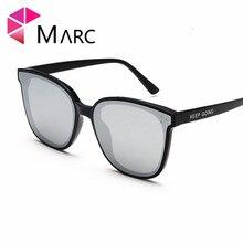 MARC Women 2019 Sunglasses Square Silver Red Classic eye glasses UV400 Oculos fashion Brand Feminine 1