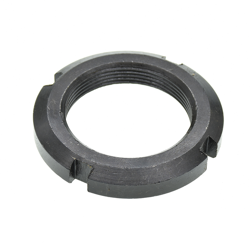 1/2/3Pcs DIN981 M10 M12 M14 M16 M18 M20 M22 M24 M25 M27 M30 M33 M35 M36 M39 M40 Round Nut Slotted Nut Four Slot Nut GB812