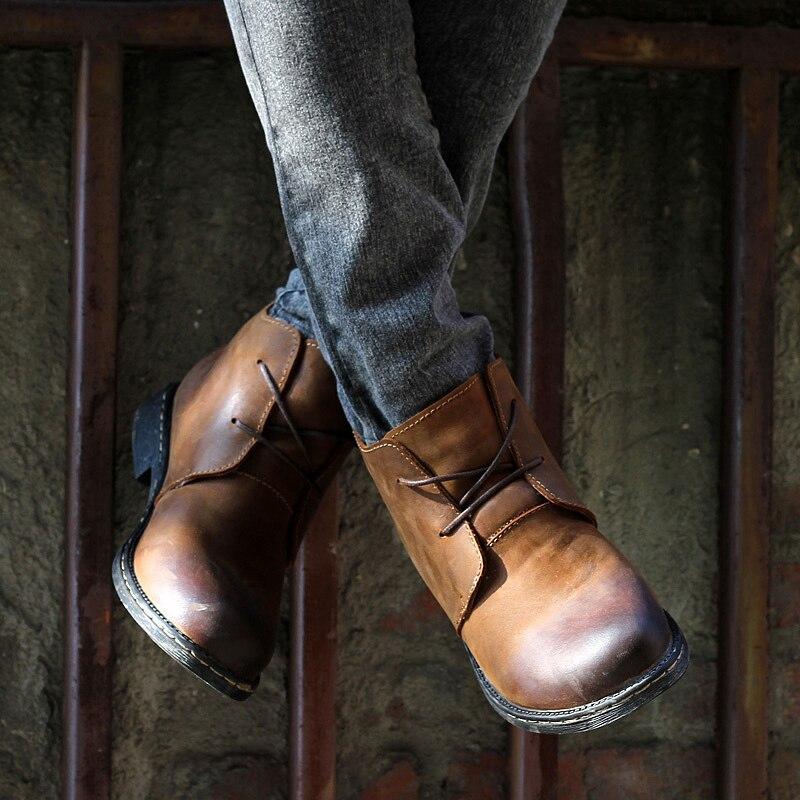 Waterproof Dress Boots For Men - Yu Boots