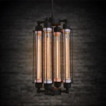 Loft fluit creatieve hanglamp vintage lamp cafe bar vintage hanglamp woonkamer bar hanglampen bevatten lampen-in Hanglampen van Licht & verlichting op LUALS Official Store