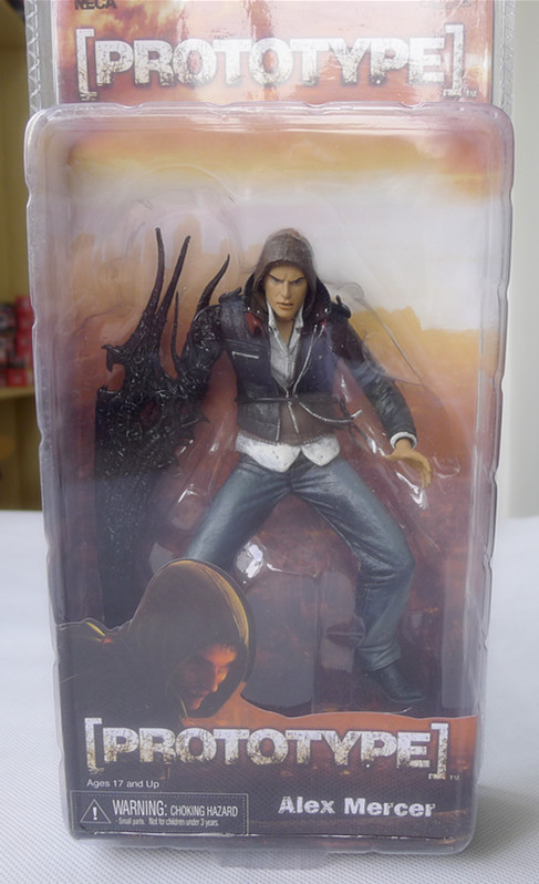 "Neca <font><b>Prototype</b></font> <font><b>Alex</b></font> Mercer 7"" <font><b>Action</b></font> <font><b>Figure</b></font> New in Box"